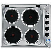 Indesit Electric Hob, PIM604IX, Stainless Steel
