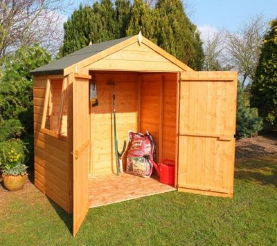 4x6 Shed with Double Doors & Window by Finewood
