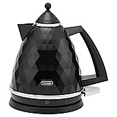 De'Longhi Brillante Jug kettle , 1.7L - Black