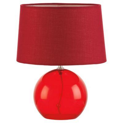 Tesco Lighting lydia glass ball red