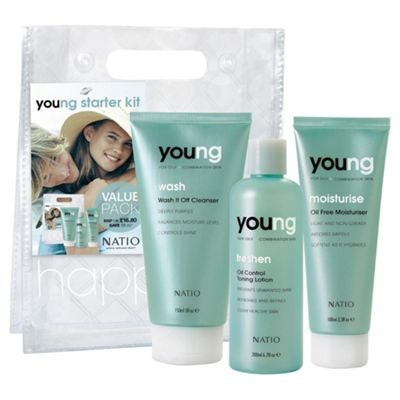 Natio Young Skincare Kit