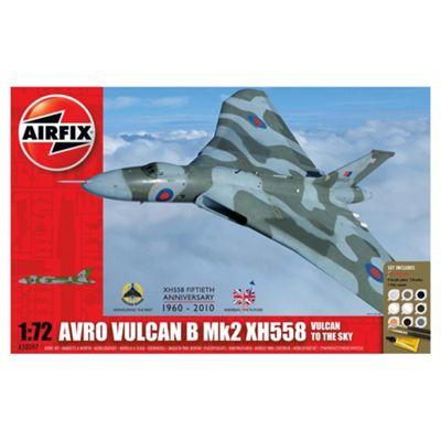Airfix A50097 Avro Vulcan Xh558 Vulcan To The Sky 1:72 Scale Aircraft Gift Set