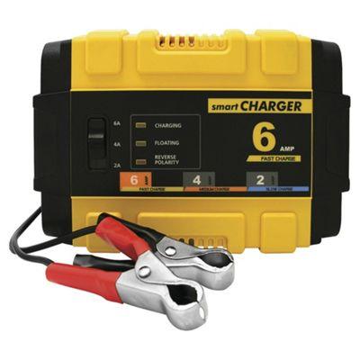 Polco 12V Smart Battery Charger - 6 amp