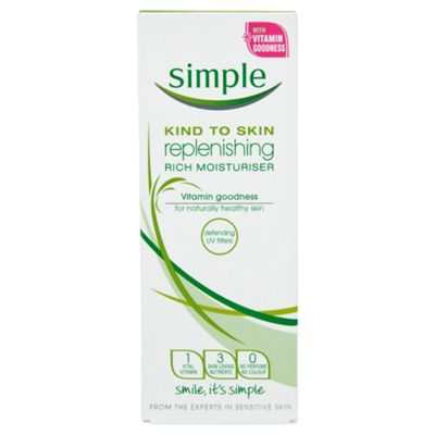 Unilever Simple Replenishing Rich Moisturiser