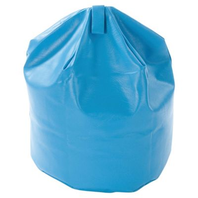 Kaikoo Kids Faux Leather Bean Bag, Blue