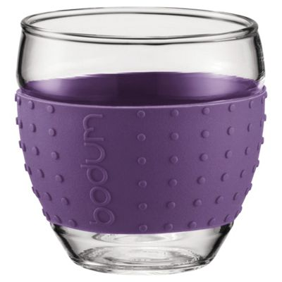 Bodum Pavina Set of 2 0.35L Glasses, Purple