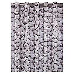 Tesco Pebbles Shower Curtain
