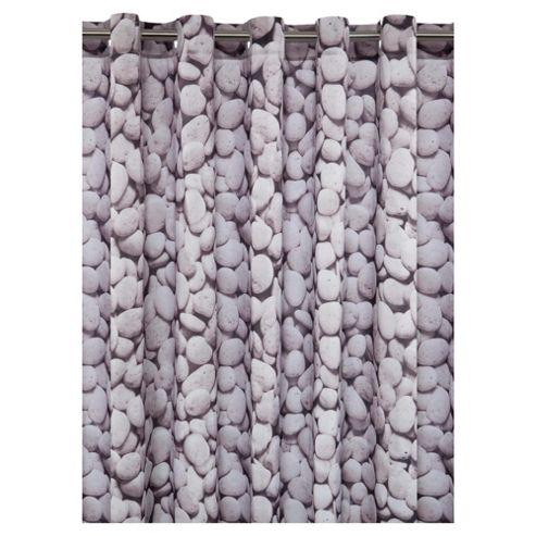 Tesco Pebbles Shower Curtain