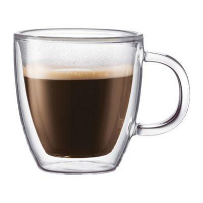 Bodum Bistro Set of 2 0.3L Double Walled Mugs