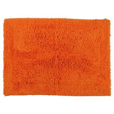 Tesco Bath Mat Orange