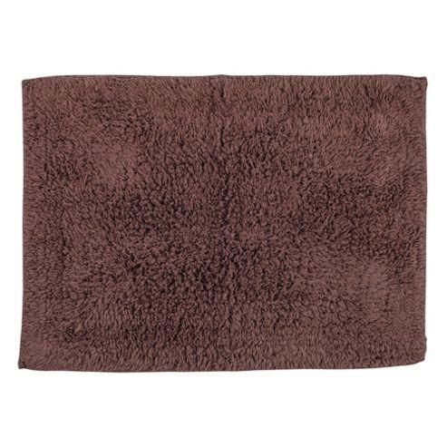 Tesco Bath Mat Dark Natural