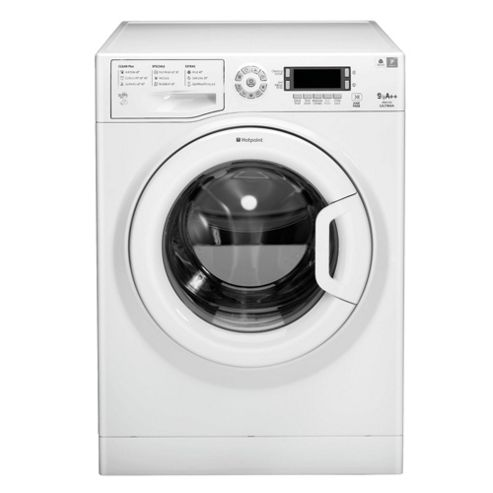 Hotpoint Ultima WMUD962P Washing Machine, 9Kg Wash Load, 1600 RPM Spin, A++ Energy Rating, White