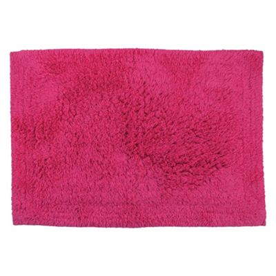 Tesco Bath Mat Raspberry