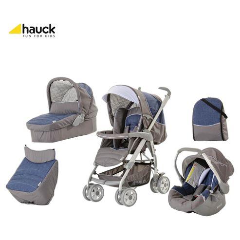 Hauck Condor Trioset Travel System, Jeans