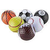 Novelty Sports Golf Balls