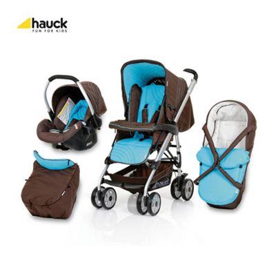 Hauck Eagle Trioset Travel System, Lolli Turquoise