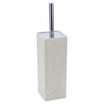 Stone Effect Toilet Brush Holder