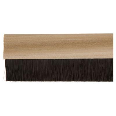 Wooden Bottom Door Brush Seal