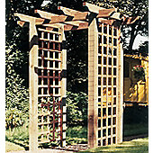 Pentridge Pergola - Includes Postfix for fixing