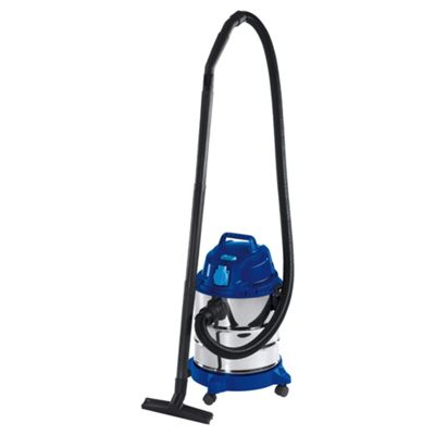 Einhell 1250W, 20L Wet and Dry Carpet Cleaner with Power Tool Socket