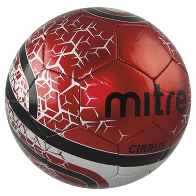 Mitre Cirrus Football Size 4 Red