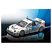 Hornby C3156 Ford RS 200 No.8 Kelle Grundel 1986 Rally Of Sweden Scalextric