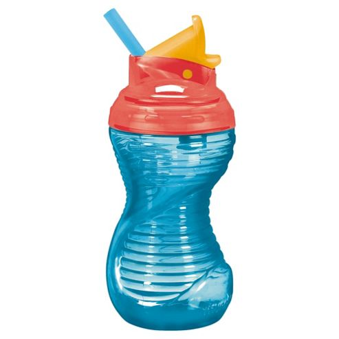 Munchkin Mighty Grip 10Oz Flip Straw Cup