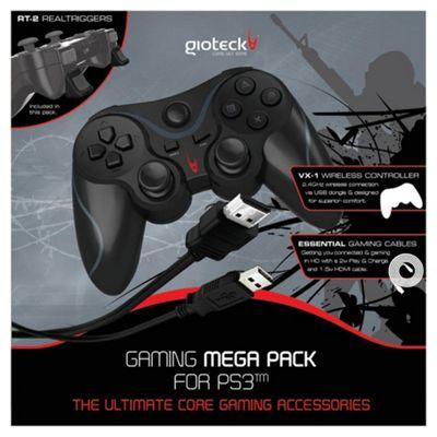 Gioteck Gaming Mega Pack (PS3)
