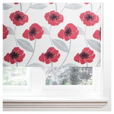 Poppy Roller Blind 120x160cm Red