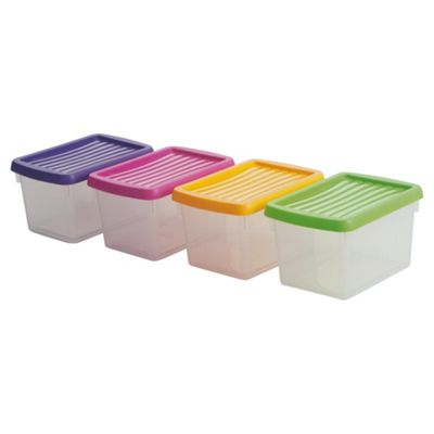 Wham 1.5L handy box, Pack of 4