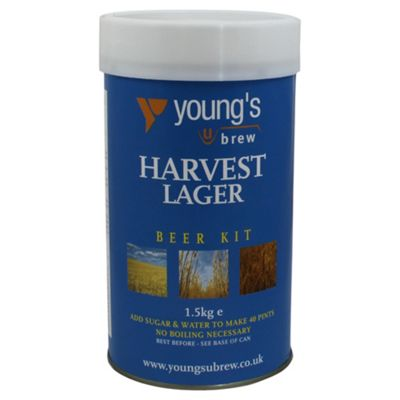 Youngs Harvest Lager Kit, 40 pints