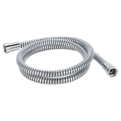 Tesco chrome effect shower hose