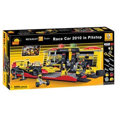Cobi Renault 450 Piece F1 Racing Car & Pitstop