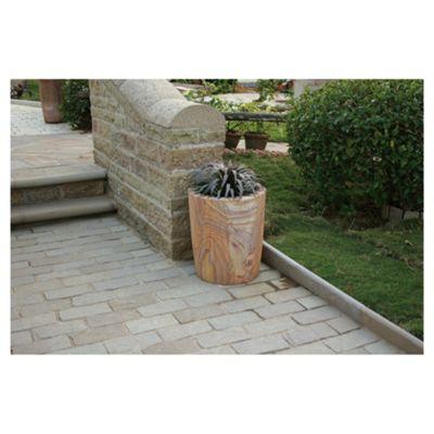 Pavo Rainbow Stone Planter 80cm