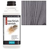 Polyvine Wax Finish Varnish - Black - 1 Litre