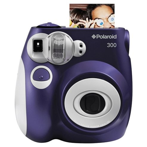 Polaroid 300 Purple Instant Camera
