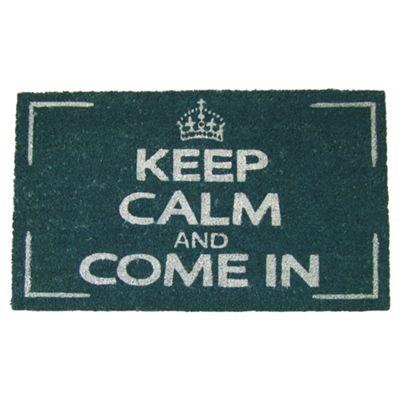 Keep Calm & Come In Door Mat 45x75cm