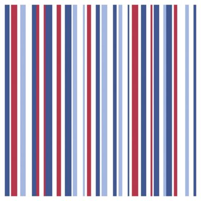Arthouse Super Stripe Blue Wallpaper