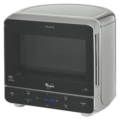 Whirlpool Solo Microwave Max 35 13L, Silver