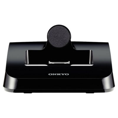 Onkyo DS-A4 Remote Interactive Dock for the iPod, Video Out, IR Remote, RI, Auto Power On, Full iPhone compatibility