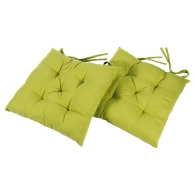 Tesco Lime Seat Pads
