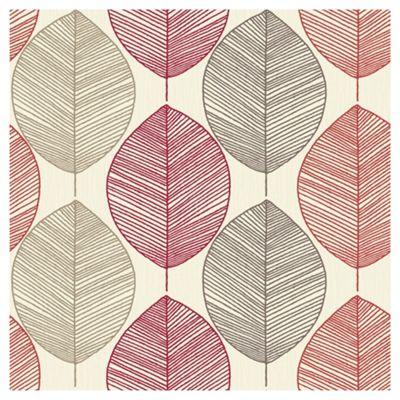Arthouse Retro Leaf Red