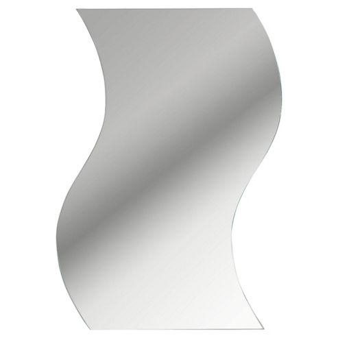 Wave Mirror 30x22cm