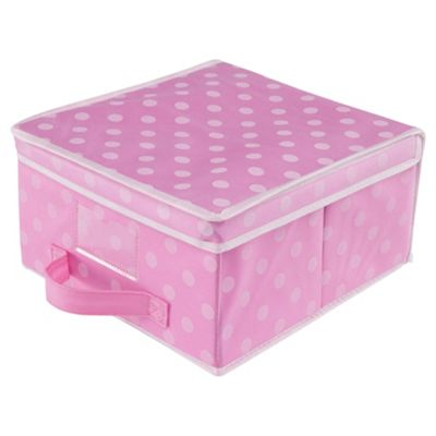 Pois Small Box - Pink Polka Dot