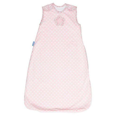 Grobag Baby Sleeping Bag, Button Rose, 2.5 tog 0-6 Months