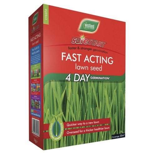 Westland Sure Start Fast Acting Lawn Seed 50m2