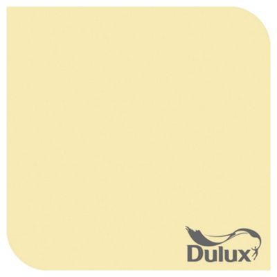 Dulux Matt Emulsion Paint, Pale Citrus, 2.5L