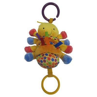 Minikins Wiggly Caterpillar Pram Toy