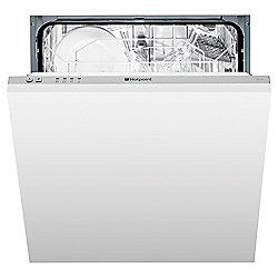 Hotpoint LFT114 Integrated Full Size Dishwasher, A Energy Rating. White