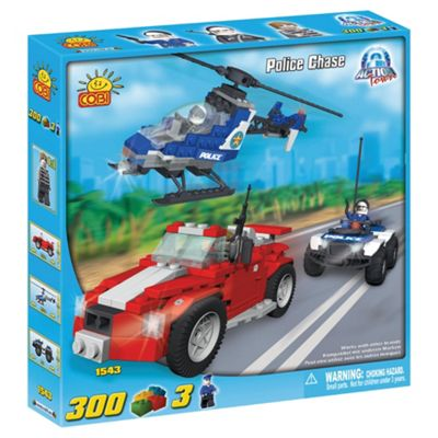 Cobi Action Town 300 Piece Police Chase